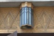 Art Deco Architecture / Setbacks, geometrical details, Egyptian-inspired flourishes - all of the details of buildings that make my heart go pitter-pat.