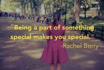 Rachel Berry's Fashion