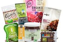 Best Vegan Organic Gift Baskets / For that special someone who eats lower on the food chain and loves their treats!