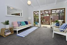 Home Staging - Ewen Alison Ave / This cute retro semi-detached was empty after being refurbished. We filled it with light, summery colours.