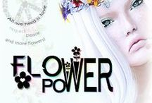 Power Flower Fair 2016 ~ Inspirations / Power Flower Fair 2016 [•] Date: 12 to 26 February / 2016[•] A Second Life Event (by WedoSL Events) [•] More info: www.wedosl.com [•] This painel is to inspire and incite even more the imagination of everyone for our event, Flower Power Fair.