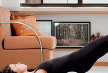 Pilates em casa / Exercício físico