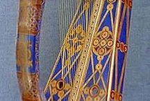 Historic & etnic musical instruments