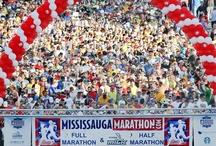 Start Lines 2004 - 2014 / We thought it would be neat to see how the Mississauga Marathon start line has changed over the past 11 years, from our inaugural race in 2004 to our 2014 event! / by Mississauga Marathon