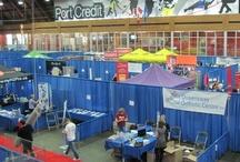 Runner's Expo - 2012 Mississauga Marathon / Location: Port Credit Memorial Arena, 40 Stavebank Road North, Mississauga, ON., L5G 2T8 / by Mississauga Marathon