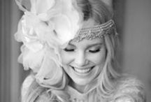 Bridal hairwear / Flower wreaths, antiqued head bands and bold braids will make you look and feel like the queen of the castle