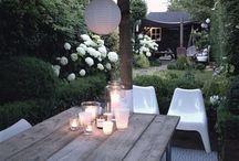 Garden / Mooie tuinen en gezellige zitplekjes