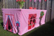 Diy naaimachine / Creatief achter de naaimachine. Kinderkleding, hartjes, mandjes, babyspulletjes.