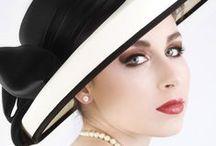 Romantic ladies hat