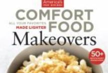 Comfort food Cookbooks / Cookbooks with stews, soups, and all the comforts you need to enjoy when cooking when it's cold outside.
