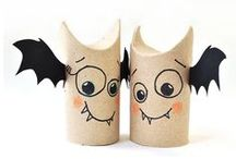 Halloween Crafts for Kids / Spooky crafts for the month of October!
