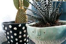 Кружечки кашпо вазы и К