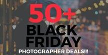 2016 Black Friday / These are the hottest deals for photographers during Black Friday and Cyber Monday 2016. This page is updated daily with new offers. See 50+ deals at http://photographyspark.com/black-friday-deals-for-photographers-2016/