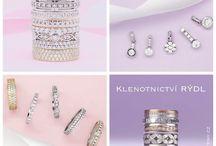 Novinky z naší dílny / Do nového roku jsme pro vás připravili řadu krásných modelů snubních prstenů. Jak se vám líbí?