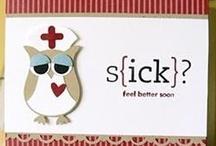 Cards - Owls, Illness, Sympathy / by Nancy Hunt-Mcdonald
