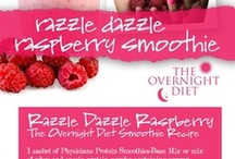 Weight Loss Smoothie Recipes / With the Overnight Diet weight loss smoothie recipes you can lose up to two pounds overnight! Browse these delicious recipes from the book, and start slimming down TONIGHT!  / by Dr. Apovian