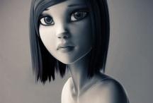 3D Cartoons Characters / it's a collaborative board