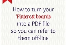Pinterest Tips / by Pmesocial