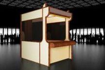 Imagine Virtual - Design de equipamento  - Aeroportos / Album com diversos balcões projectados para aeroportos. Concepção / Construção; desenvolvimento de plataforma multimedia web-based, para publicação, edição e gestão de conteudos