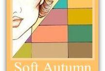 AU: SOFT AUTUMN / Seasonal Color Systems / by Brenda Delaney-Putz