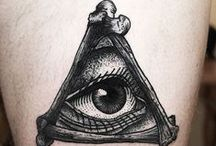 Paint it black / Creativity, Tattos, Black n grey, Color, Tattoo ideas