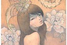 Illustr. & Paintings | Human Figure