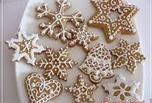 GINGERBREAD / Christmas Cookie Ideas, Christmas Spirit, Ginger Cookies, Gingerbread Cookie