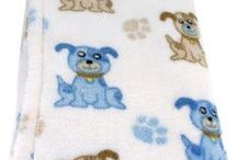 Blue Dog / Striking black and blue stripes cover these adorable Blue Dog designs. Lots of coordinating gift sets and toys available.