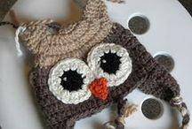 crochet hats and aplication