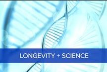 Longevity Science / Discover the latest groundbreaking research on longevity and anti-aging.