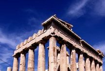 Acropolis, Athens / Breathtaking views form Acropolis: the sacred rock with the ancient Greek temples that rises above the centre of the city. http://goo.gl/iqfZzK