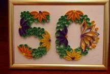 quilling letters / numbers / words