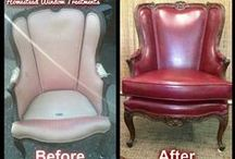 Upholstery Jobs / Some furniture has a history that can't be bought: the first piece of furniture you bought in your marriage or a wing chair that belonged to your grandfather. If a piece has sentimental value, it's worth recovering! Bring it to us and we will turn it into new!