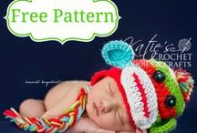 FREE Crochet Patterns / Please add **YOUR OWN FREE patterns only**  If you'd like to be added as a pinner to this board follow these directions: 1. Follow me 2. Fill out the contact me form here & provide me with your email used on pinterest: http://katiescrochetgoodies.com/contact