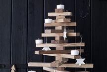 Kerst - alternatieve kerstbomen