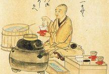 chanoyu 日式茶道 / Accesorios para realizar ceremonia del té japonesa.