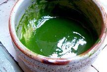 koicha 抹茶 浓茶 / maccha koicha, matcha thick tea, 抹茶浓茶