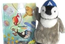 Noodles & Albie / The owner of Penguin Gift Shop, Eric Bennett, wrote a children's penguin book called Noodles & Albie.  The book, posters of the artwork and a stuffed penguin named Noodles are all available at PenguinGiftShop.com