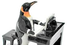 Penguin Collectibles / The cutest penguin figurines for the biggest penguin lover's collection!