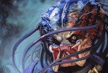 Aliens, Predators & other creatures.