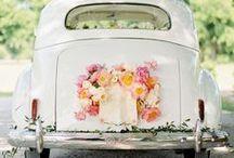 Hochzeit | Autodekoration / Die schönsten Ideen um das Hochzeitsauto zu dekorieren