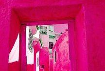 Magenta, Hot Pink, and Fuschia...