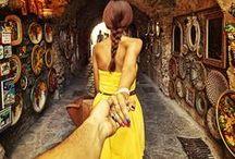 """Follow Me"" series by Murad Osmann"