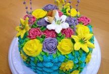 Buttercream Cakes / A gallery of my cake inspirations