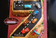 """Cars 2 Cake Inspiration and Ideas / All wonderful ideas and sweet inspiration for kids' favorite Disney and Pixar """"Cars Movie""""."""