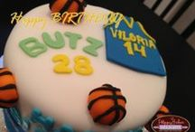 Basketball & Jersey Cake / your love for basketball is best presented on these cakes.