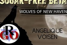 Sugar-free Beta (Wolves of New Haven, #1) / Inspiration board for book one of my Wolves of New Haven Series. (M/M paranormal romance) (Evernight Publishing)
