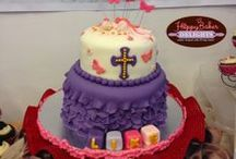 Baptismal Cake / A cutee cake for your little one's baptismal celebration