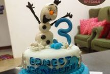 Frozen Movie Inspirations / All sweets and cakes related to the Frozen Movie