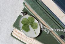 4 leaf clover inspiration / Inspiring takes on the 4 leaf clover